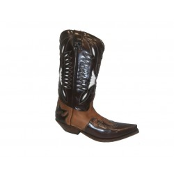 BUFFALO BOOTS BROWN FLORA