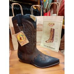 SANCHO BOOTS BROWN BLACK