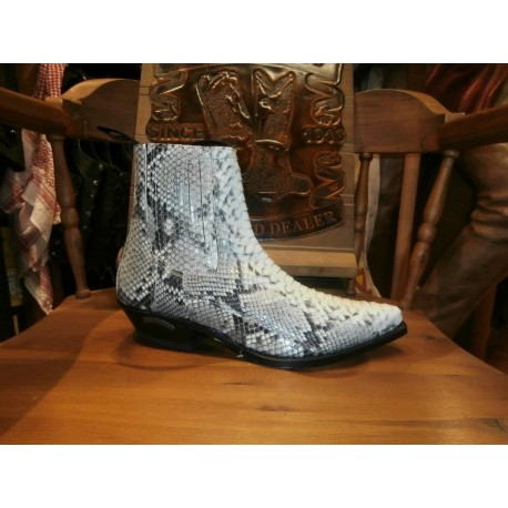 SENDRA BOOTS 1692 PICO PYTHON BAR.NATURAL