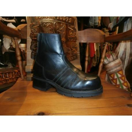 SENDRA BOOTS 5722 OLD PULL OIL NEGRO