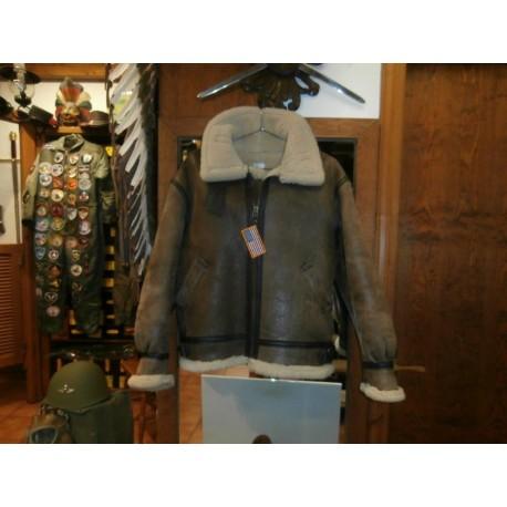 SHEEPSKIN BOMBER JACKET WW2